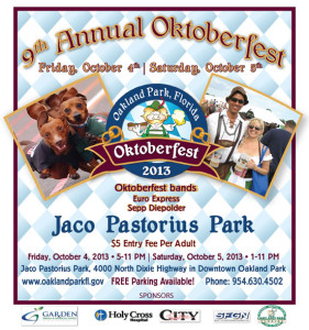 EEB plays Oktoberfest in Oakland Park Oct 4th & 5th